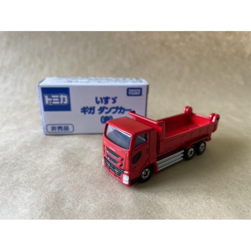 Tomica Isuzu Truck 2021 砂石車 會場金獎車 釣魚