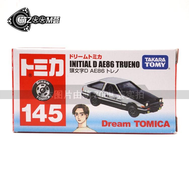 TOMY多美卡Dream TOMICA 145號 頭文字D藤原拓海 豆腐店AE86黑蓋