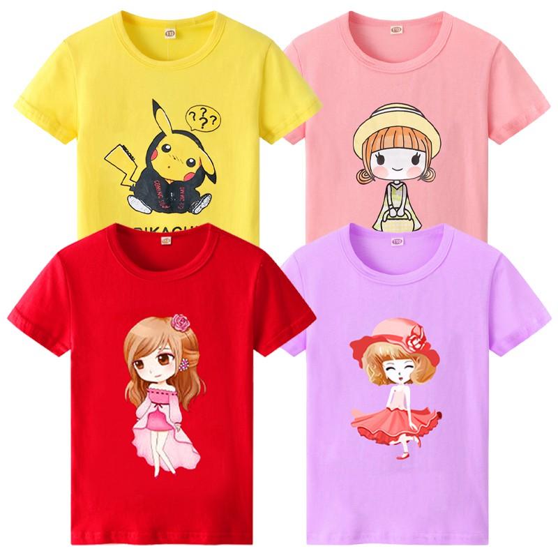 THANKS GIVING兒童短袖t恤夏裝童裝女童圓領打底衫中大童T恤小寶寶短袖T恤