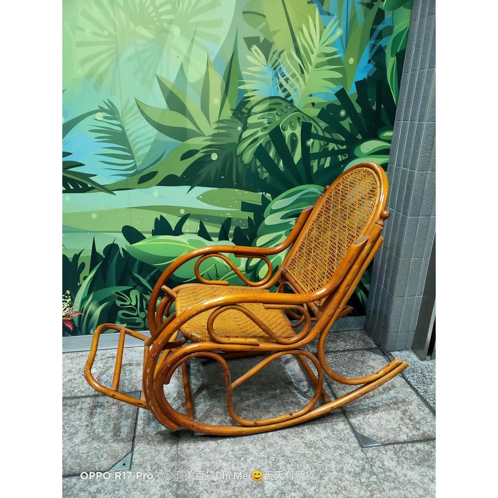 早期 藤椅 搖椅 二手 老人椅 搖搖椅 涼椅 午睡椅 公園  只能自取~~員林市靜修路