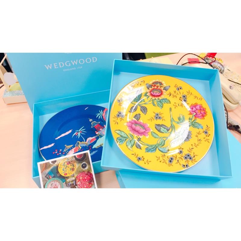 【WEDGWOOD】JASPER CONRAN翠玉鳳凰系列(盤子、茶杯與茶盤)全新