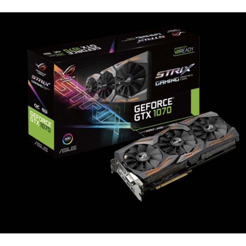 華碩ROG-STRIX-GTX1070-O8G-Gaming