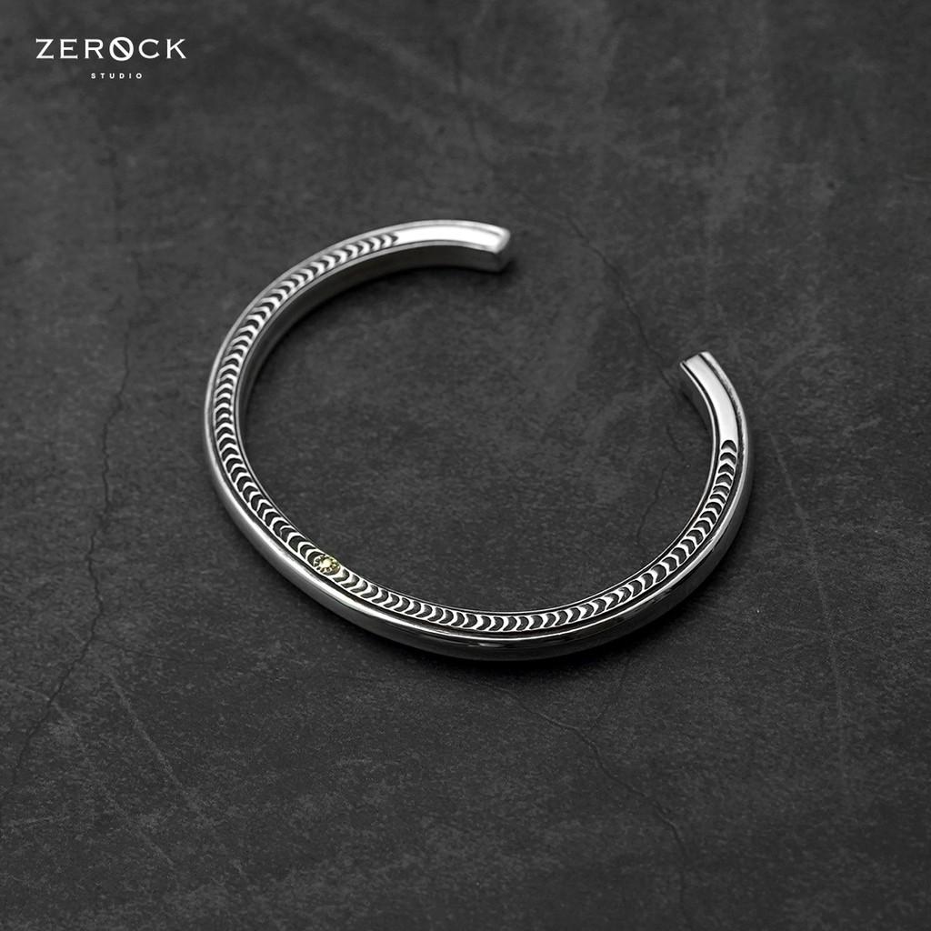 《ZEROCK》日本 Horizon Blue 平塚隆之 點金太陽手鐲 HB 側邊 點金銀 手環