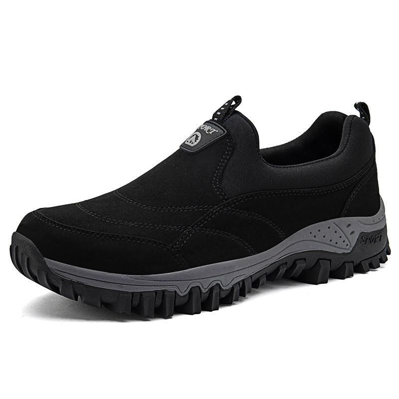 男士戶外休閒鞋 登山運動鞋 防水防滑徒步旅遊鞋 休閒透氣鞋 減震健步鞋