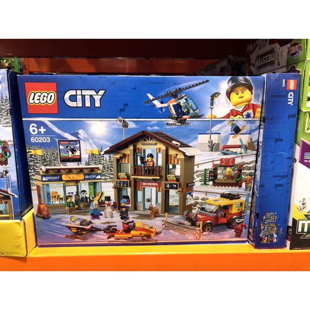 購Happy~Lego 城市系列滑雪場 #60203 未拆