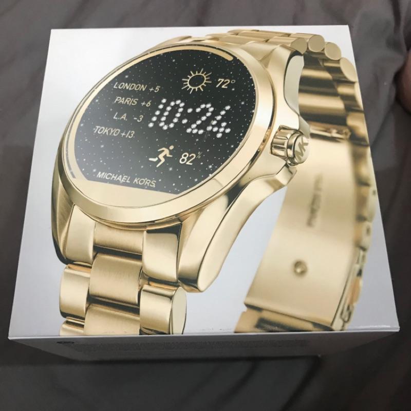 Michael kors 智能手錶 MKT5004 金色  近全新