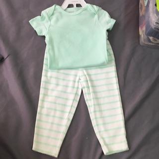 美國卡特carter's嬰幼兒包屁衣褲兩件組 新北市