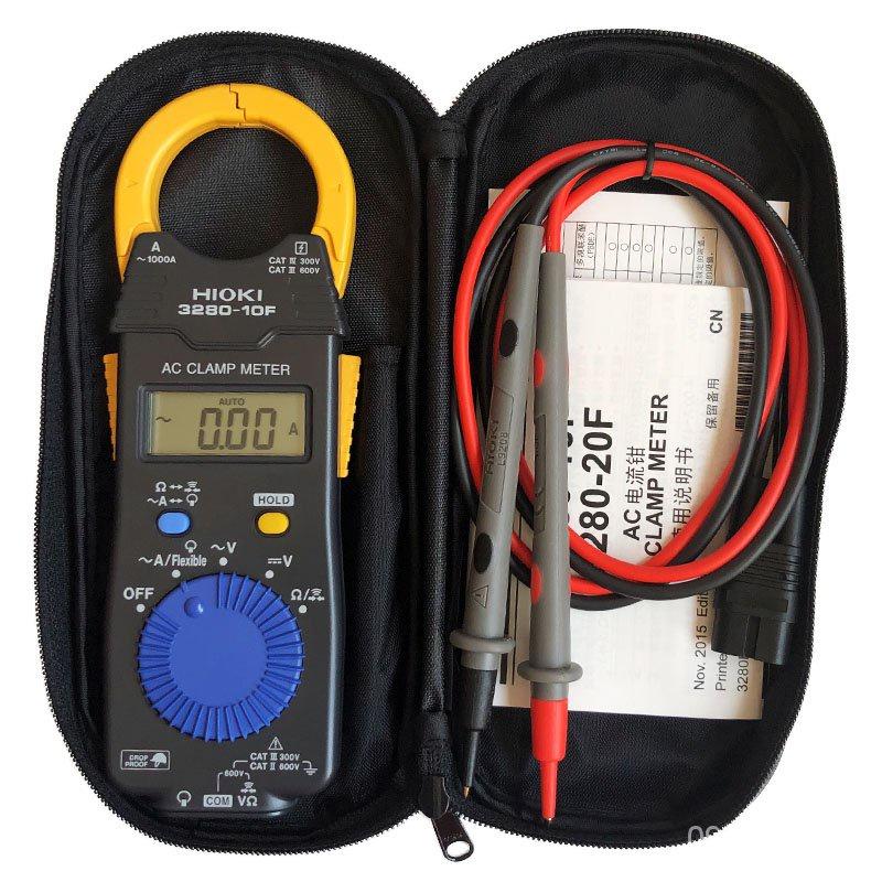 (測量儀).{台灣發貨}儀器正品日本日置HIOKI鉗型表3280-10F鉗形萬用表1000A數字鉗形電流錶 27JM