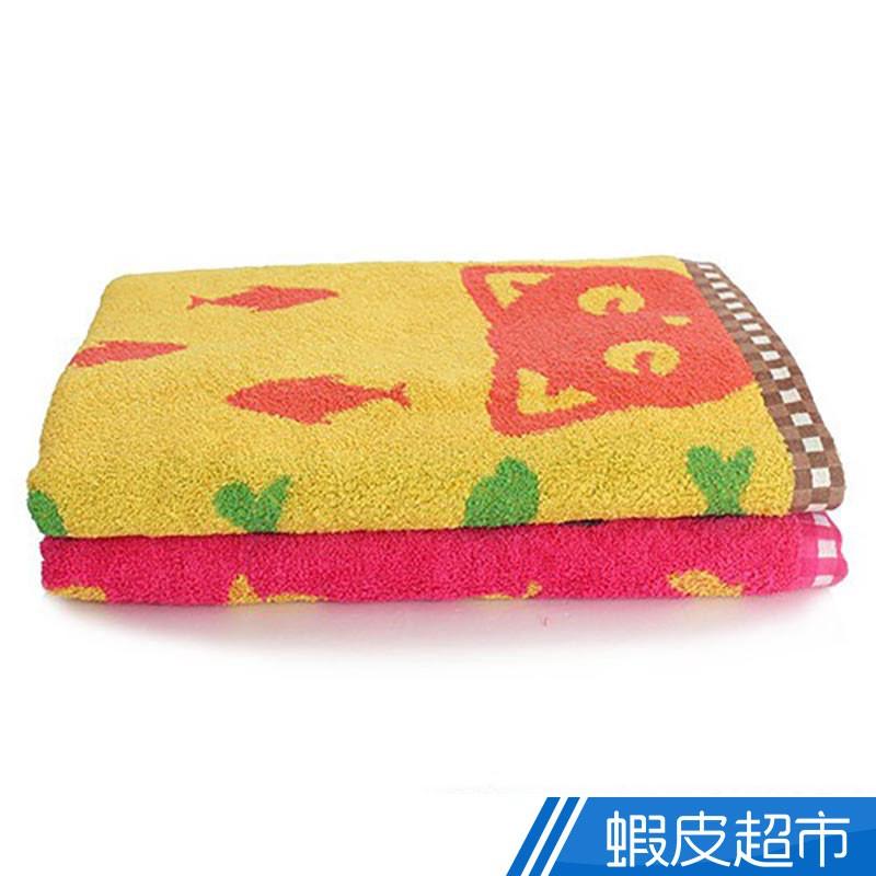 雙星低捻紗淘氣寵物話語浴巾-共2色 現貨 蝦皮直送