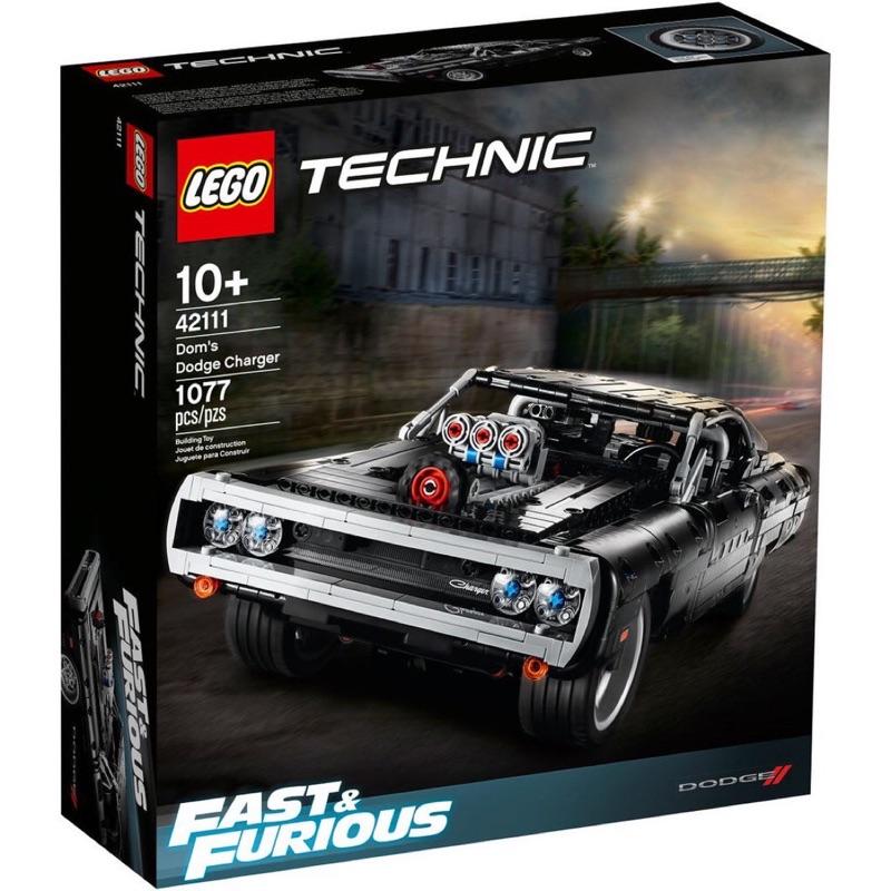 樂高 42111 科技 禮物 台北市可面交 唐老大 玩命關頭 LEGO technic Dodge Charger 道奇