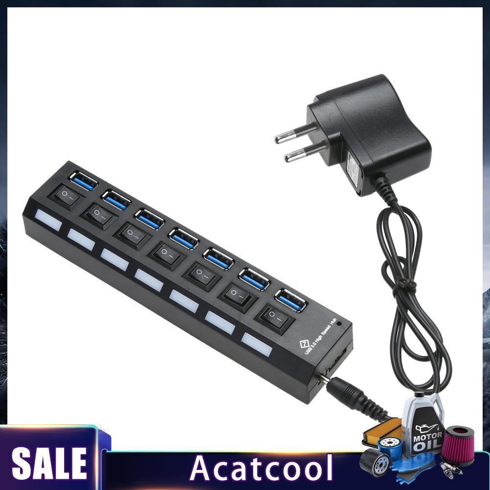 . usb3.0分線器 7口usbhub 3.0hub 擴展器 USB3.0HUB 7口分線器暢銷配件 精選品質 熱賣