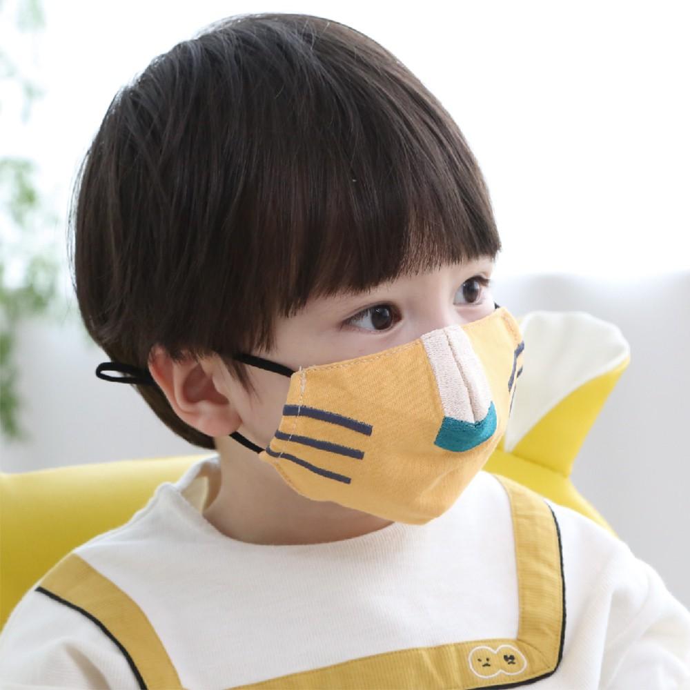 兒童3D立體口罩(套) ┃韓國Kangaruru袋鼠寶寶甜睡安全寢具(總代理公司貨)