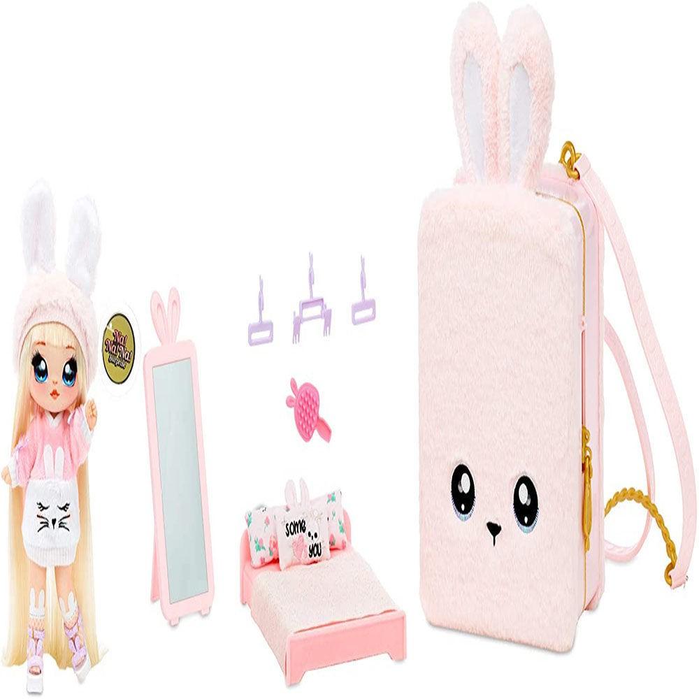 【佳佰酷】NaNaNa Surprise超大限定版娜娜背包套裝驚喜娃娃盲盒三合一玩偶