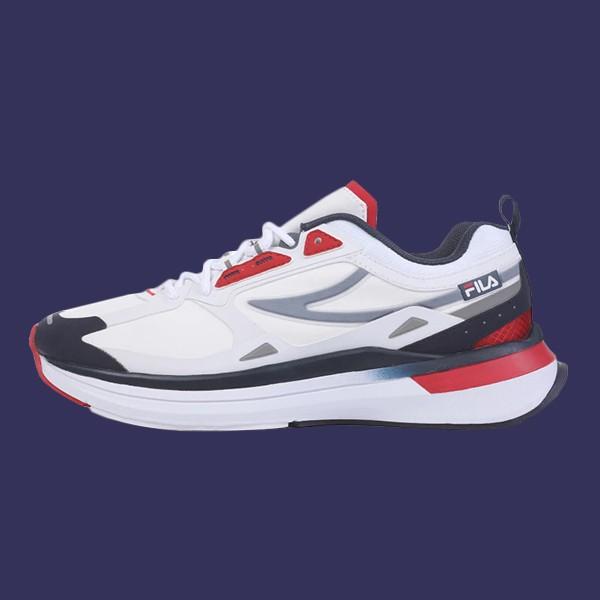 FILA【4J534U147】CURVELET復古老爹鞋 休閒鞋 情侶鞋 BTS著用款 白藍紅 男女尺寸都有