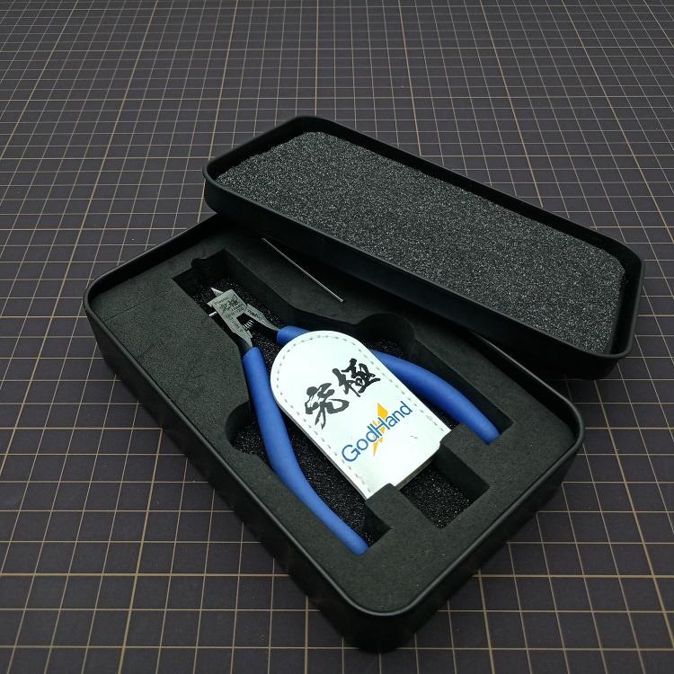 箱牌剪鉗收納盒高達模型工具軍事神之手剪鉗銼刀筆刀刀片工具盒