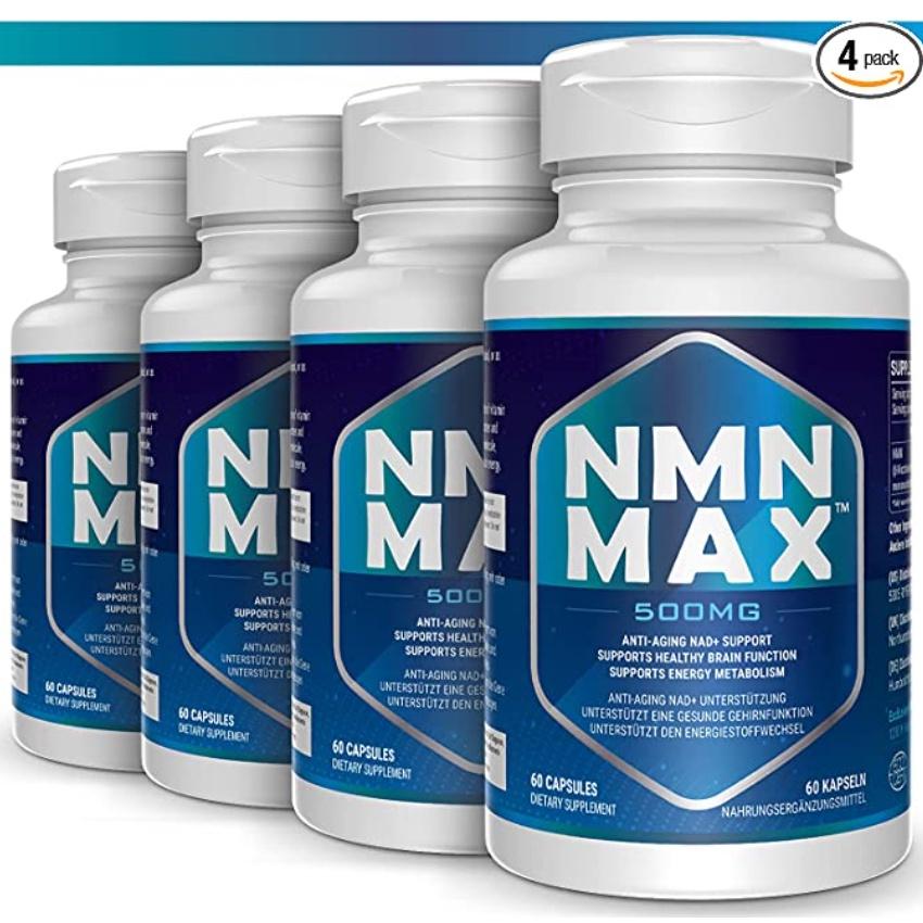 預-美國🔥NMN MAX 500mg 煙酰胺單核苷酸 NAD+前體補充劑 60粒