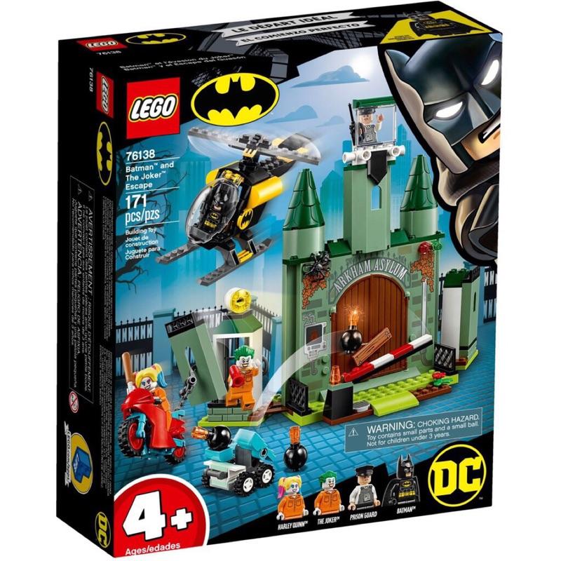 [宅媽科學玩具] 樂高 LEGO 76138 Batman™ and The Joker™ Escape 超級英雄系列