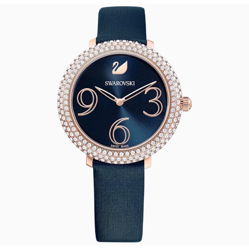 【施華洛世奇】Crystal Frost 光彩動人時尚腕錶