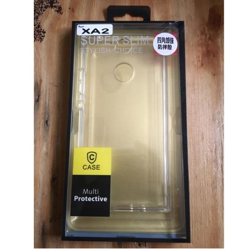 (二手)Sony Xperia XA2 四角加強防摔殼(透明)
