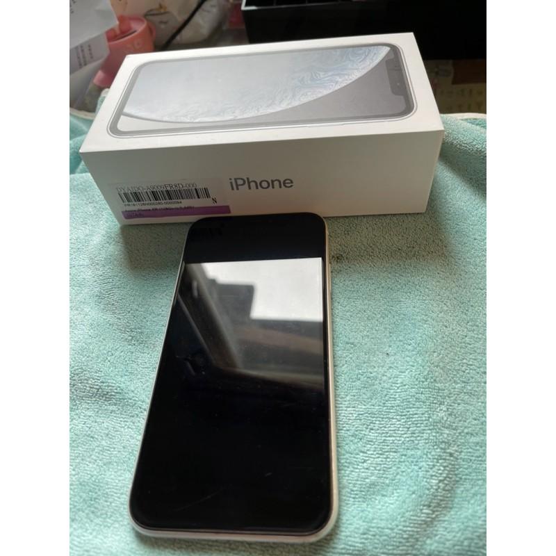 iphone xr 128g 白色 台灣公司貨 二手手機自用(已售)
