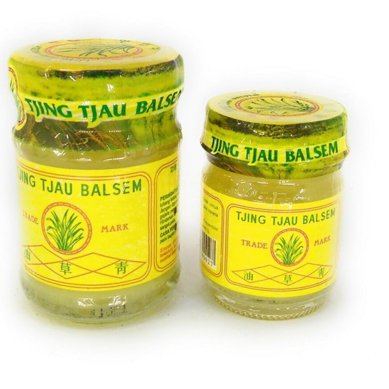 印尼🇮🇩青草油 TJING TJAU BALSEM 20g / 36g