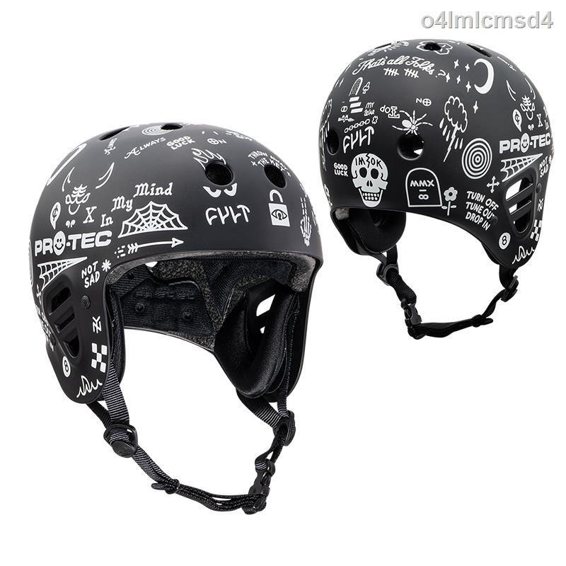 美國進口PRO-TEC護耳頭盔滑板輪滑滑雪電瓶電動車極限運動安全帽