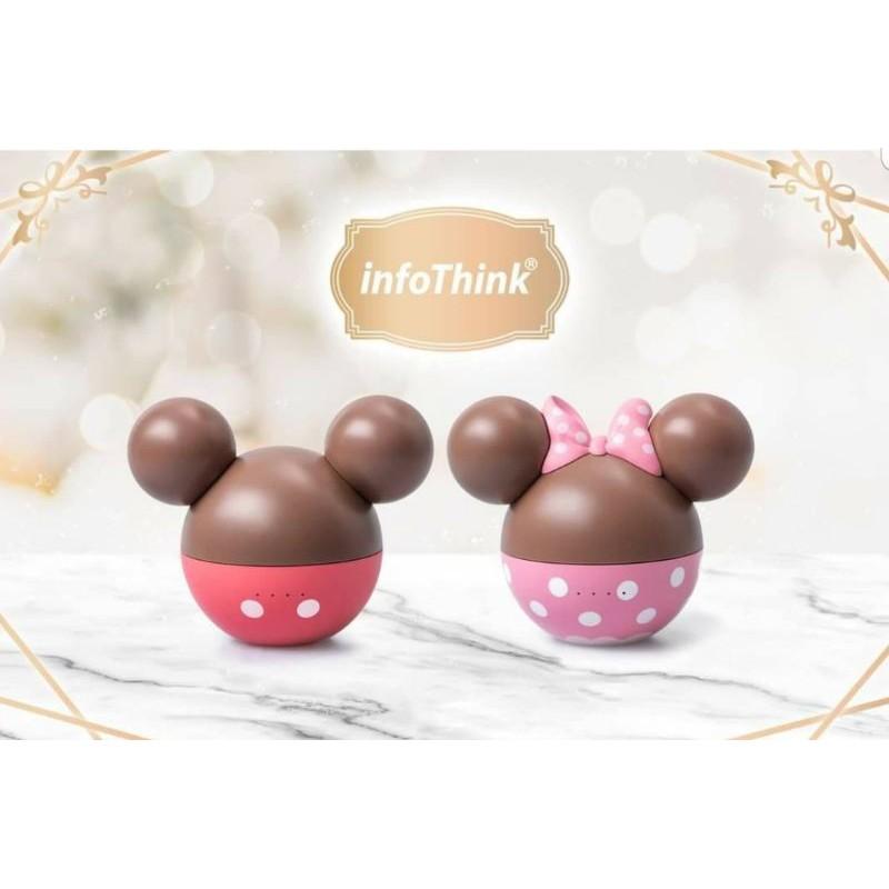 《現貨免運×711》InfoThink 米奇系列真無線藍芽耳機 米妮系列 草莓巧克力球造型