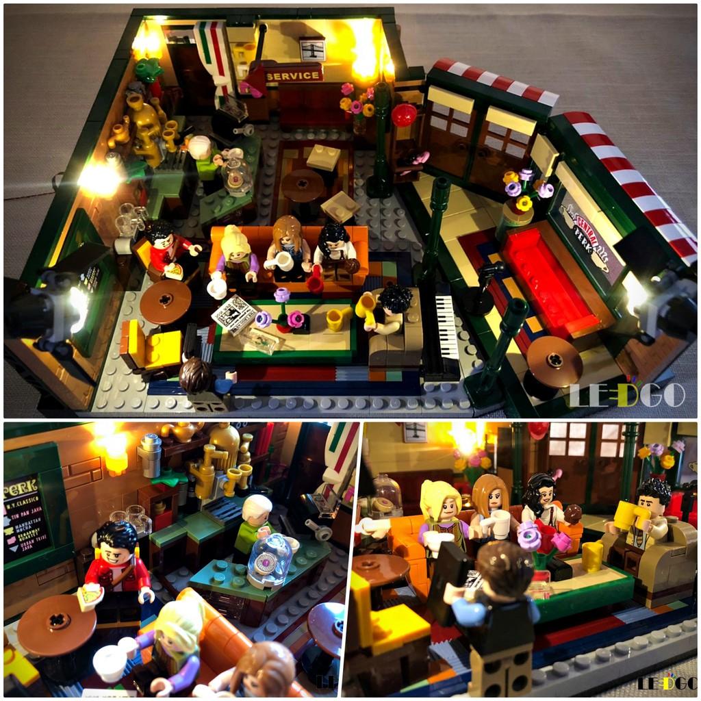 LEGO 樂高 21319 六人行 專用套組 燈組 燈光