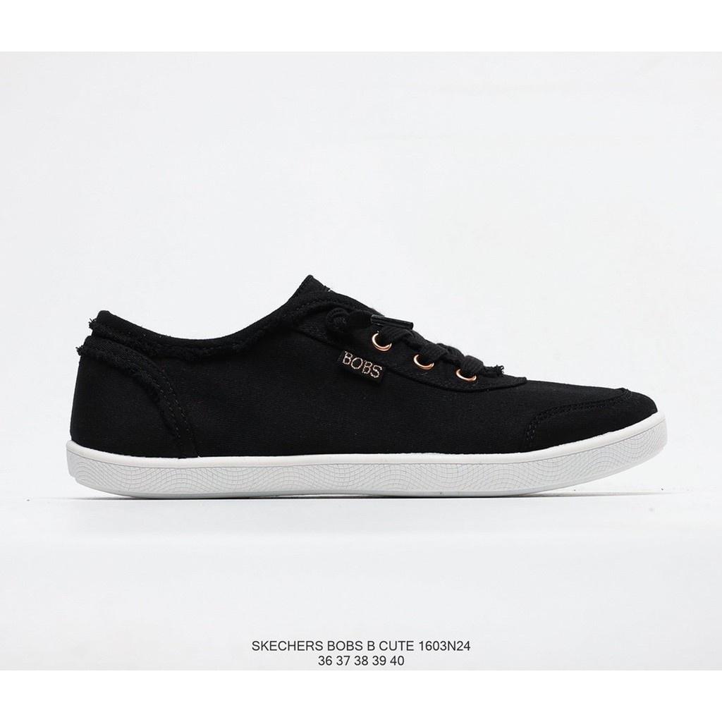 Skechers Bobs B Cute斯凱奇夏季新款女子帆布鞋