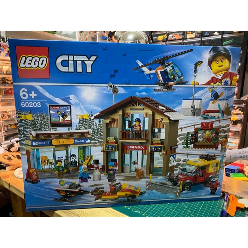樂高 Lego City 60203 滑雪場