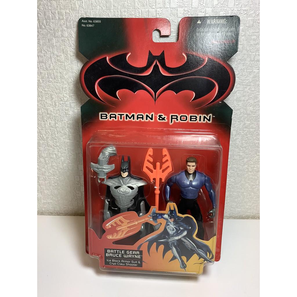 【烏力烏力屋】  KENNER BATMAN&ROBIN 蝙蝠俠 battle gear bruce wayne