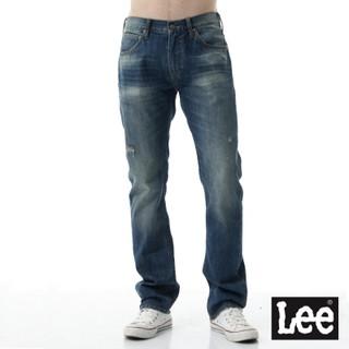Lee 牛仔褲 724中腰標準合身直筒牛仔褲/ RG -男款-深色--LL15 桃園市