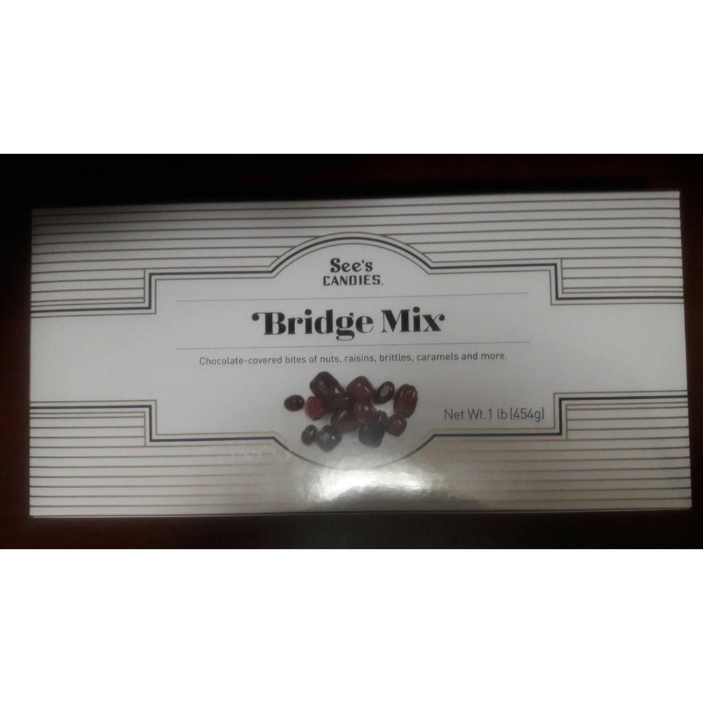 【比價達人】代購 See`s Candies 綜合夾心巧克力 BRIDGE MIX 1lb/454g