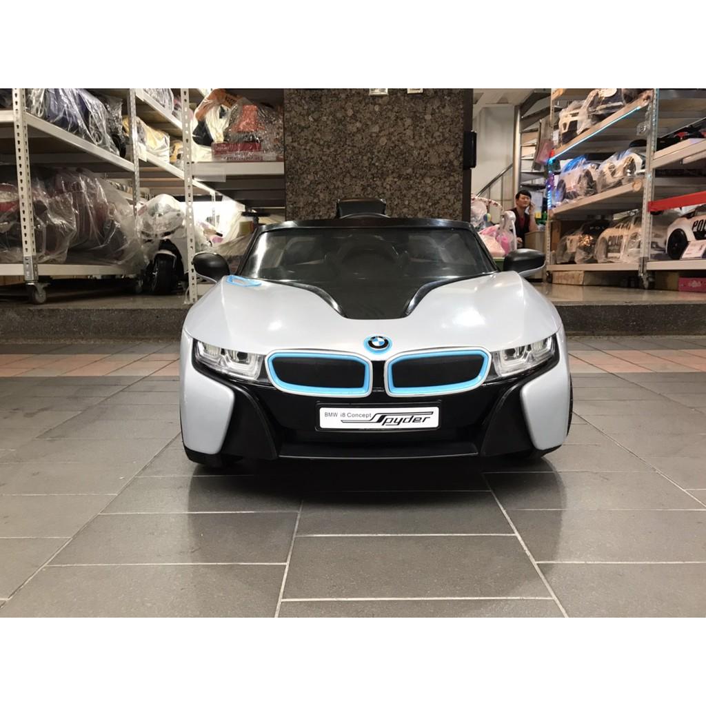 原廠授權-----二手BMW I8 灰 中古車 兒童電動車 兒童超跑 兒童騎乘電動車 兒童遙控車 兒童童車