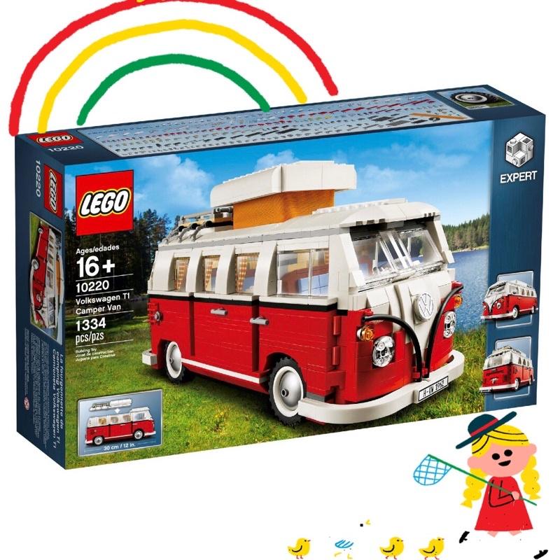 💯 全台最低價❗️台南可自取 LEGO 樂高 10220 福斯 Volkswagen T1 露營車 Camper Van