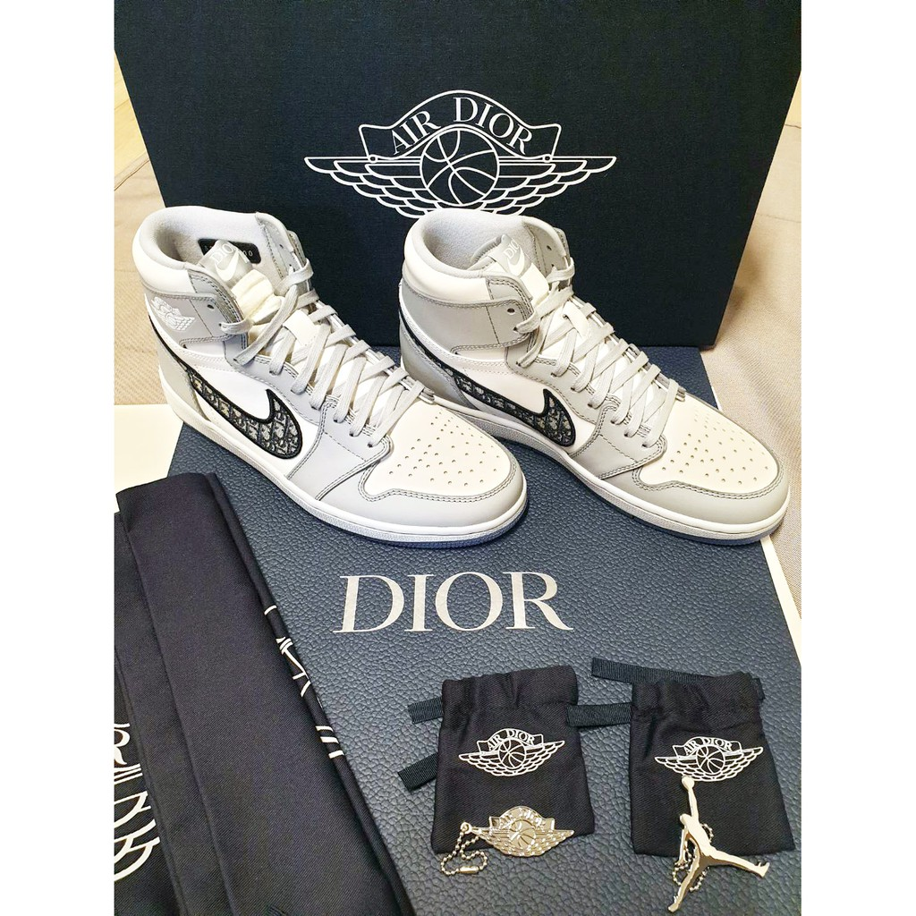 Nike x Dior Air Jordan 1 High OG Sneakers 男鞋 高筒 dior 鞋