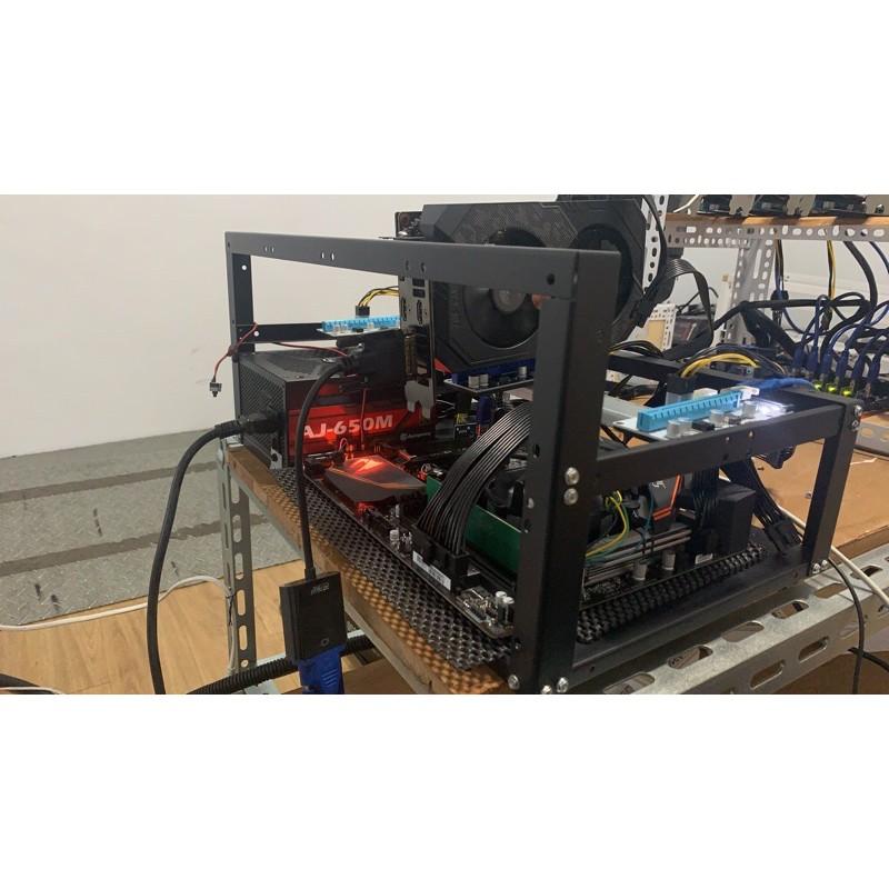 客製化礦機組裝1660S/470 8G或自備顯卡另售3070/3060ti/2080/580/578礦機 顯示卡 挖礦卡