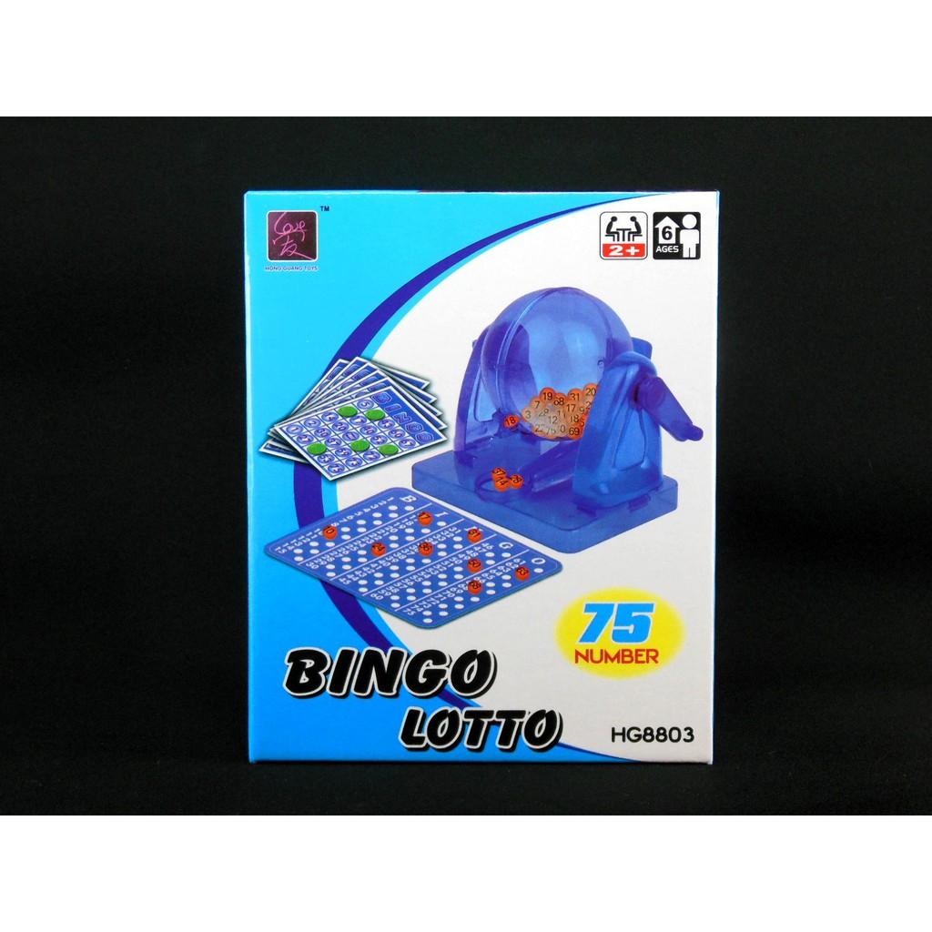 【樂達玩具】BINGO 搖獎機 賓果遊戲 樂透機 #8803