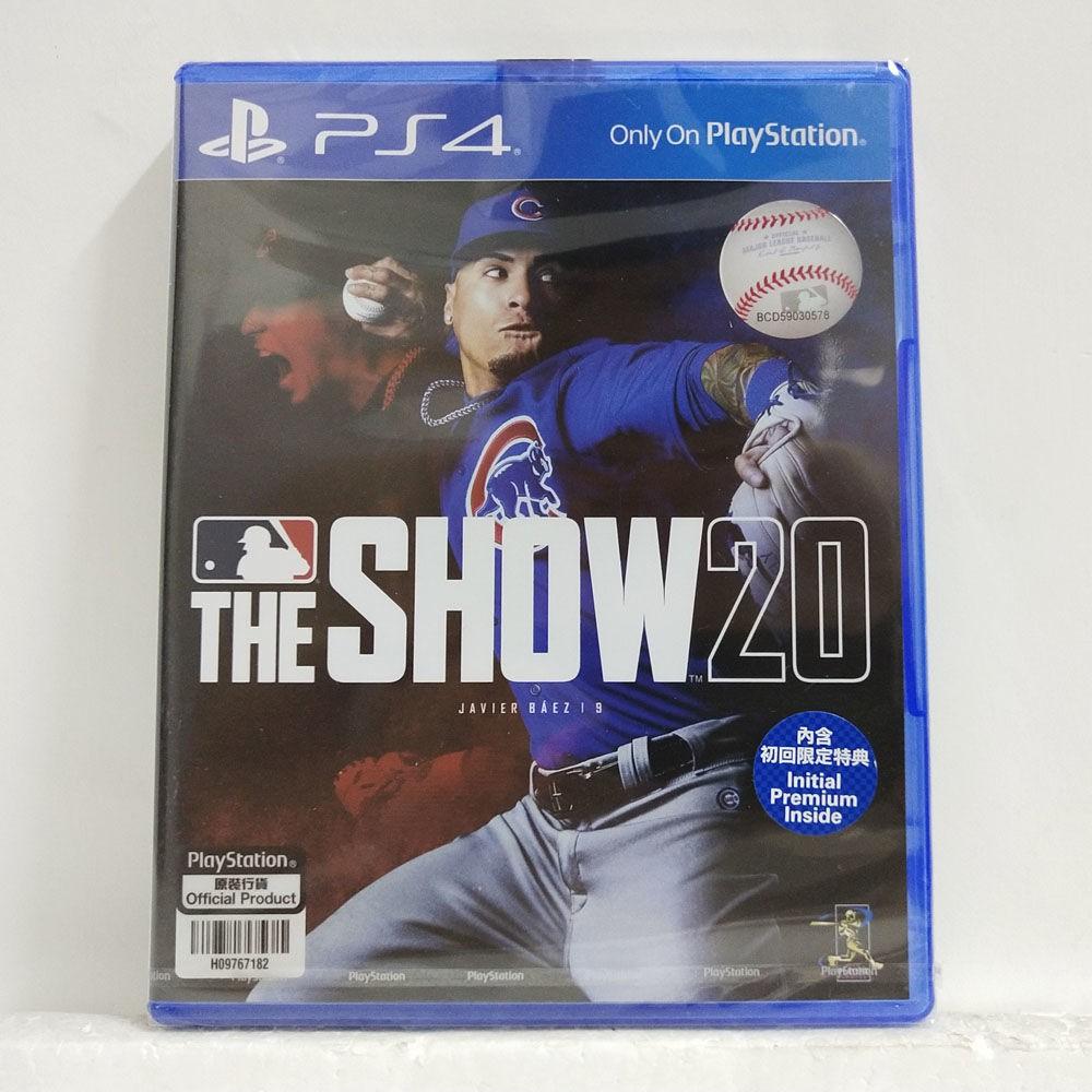 【現貨】PS4 正版游戲 MLB20 棒球大聯盟20 THE SHOW 20 英文版 現貨
