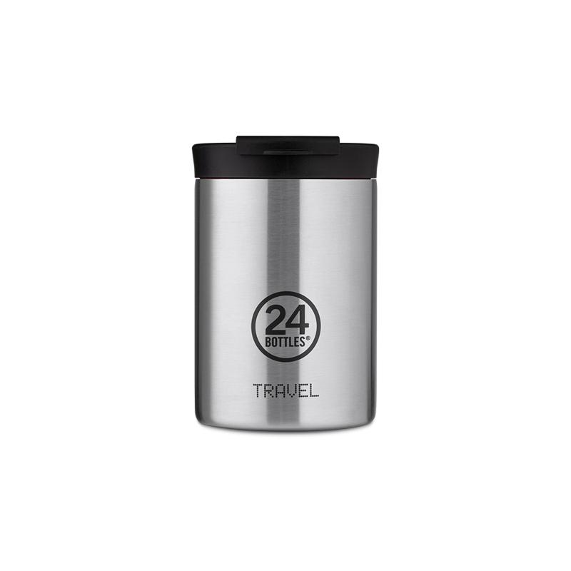 【24Bottles 城市水瓶】保溫隨行杯 350ml/紳士黑