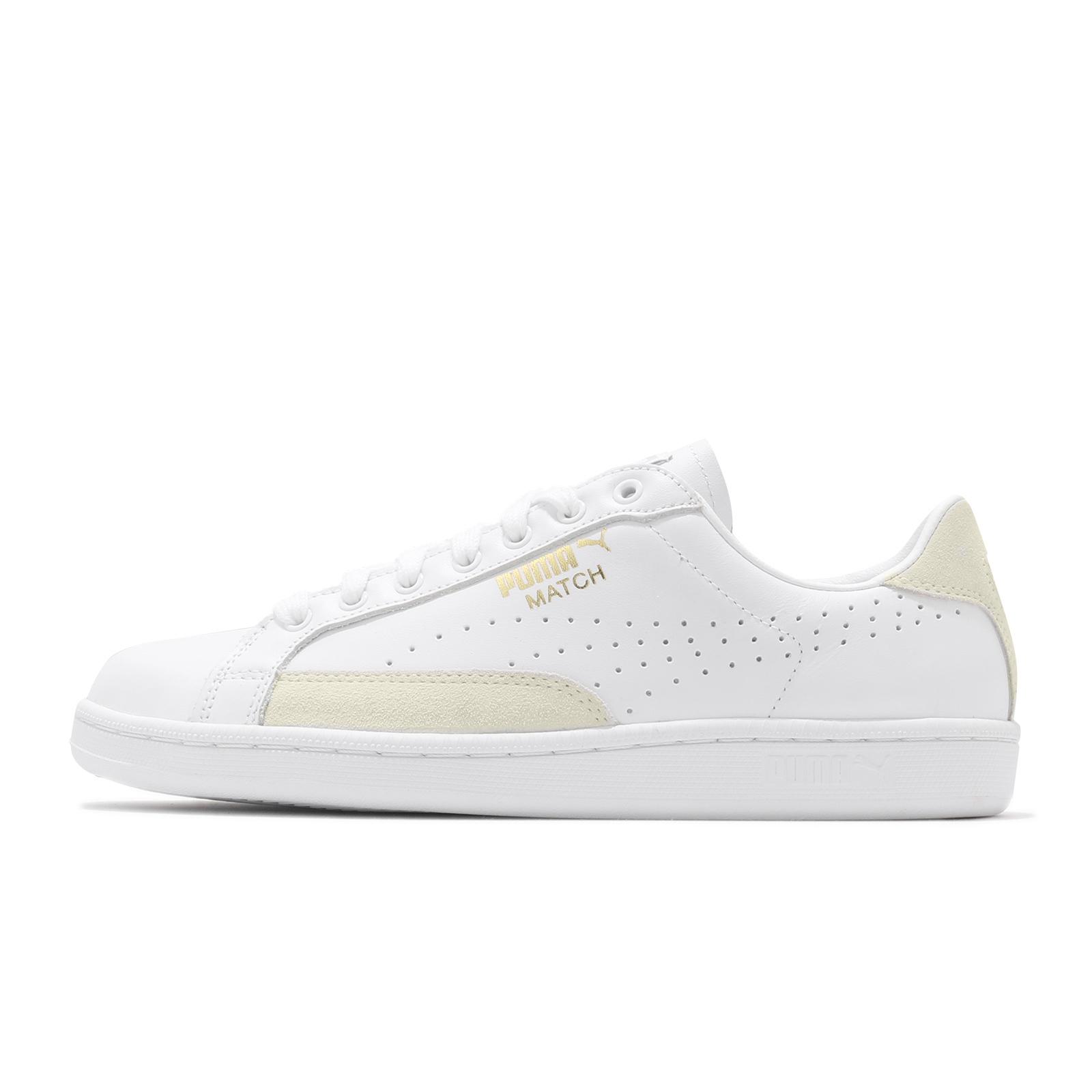 Puma 休閒鞋 Match 74 UPC 男鞋 白 米 基本款 板鞋 彪馬 運動鞋 【ACS】 359518-10