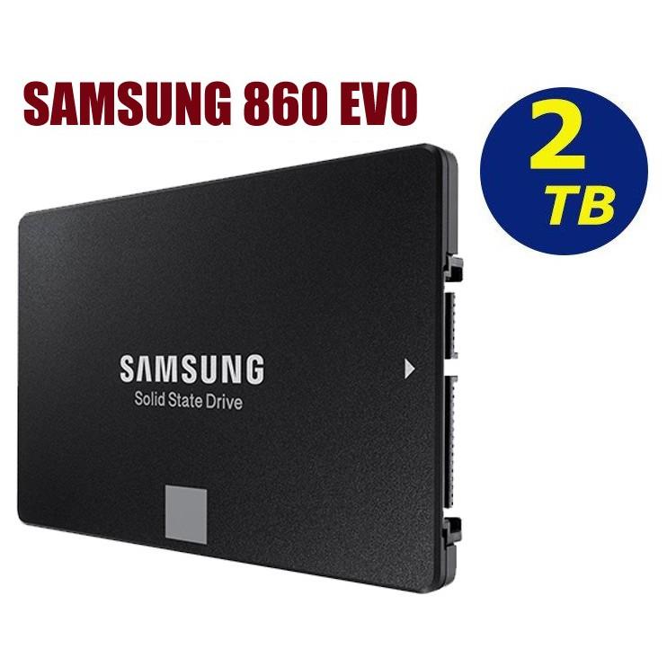 SAMSUNG【860 EVO】SSD 2TB MZ-76E2T0BW 2.5吋 SATA 6Gb/s 固態硬碟
