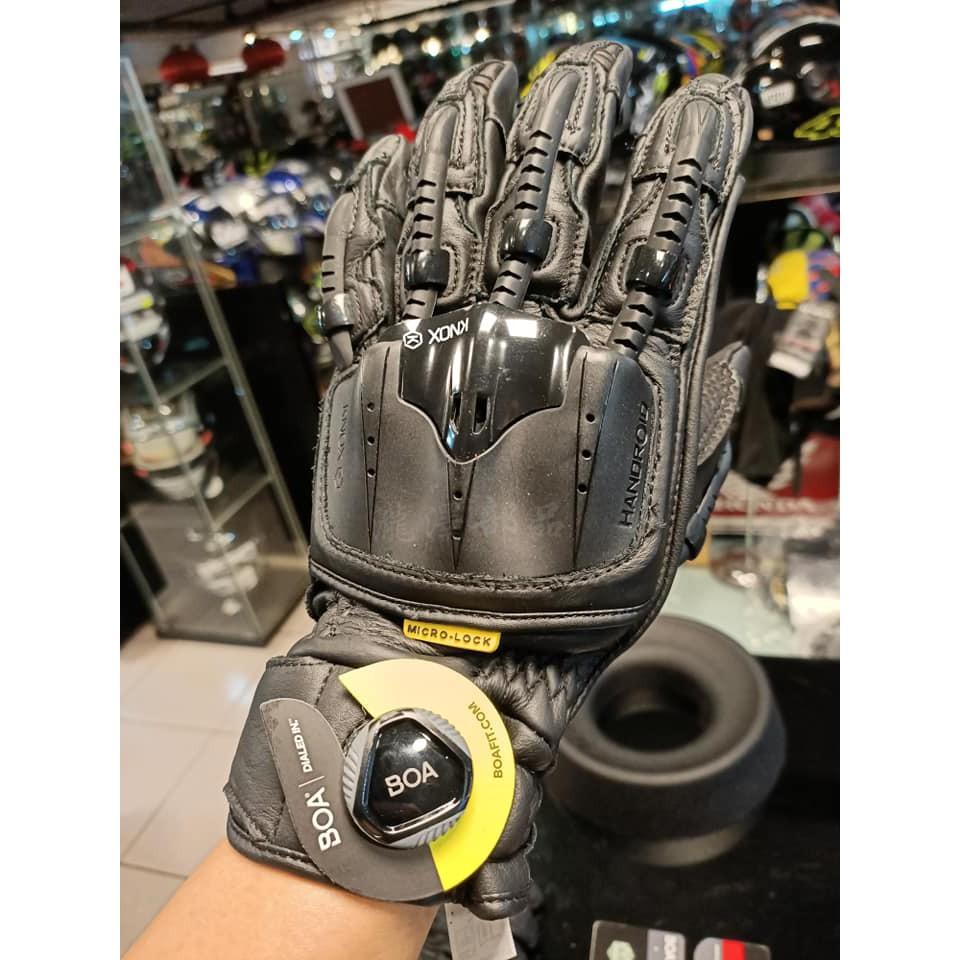 瀧澤部品 英國 KNOX Handroid Pod MKIV 機械手套 黑 短手套 防摔防護 皮革 骨骼 護甲 頂級