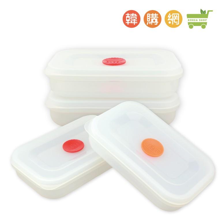 韓國矽膠新型餐盒(2入)【韓購網】