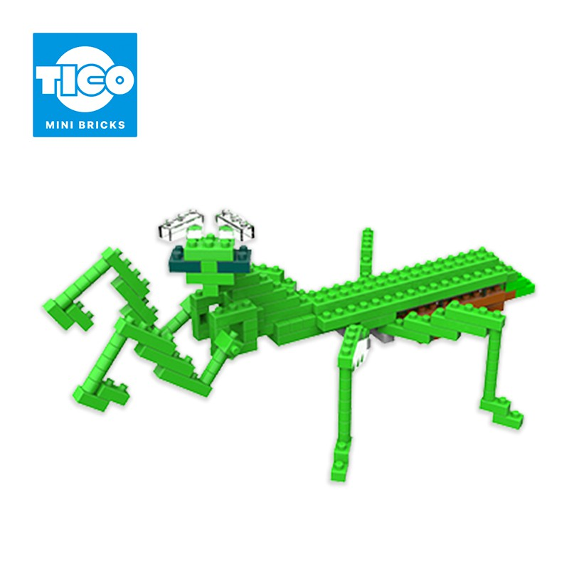TICO微型積木 昆蟲系列 螳螂(T-9532)