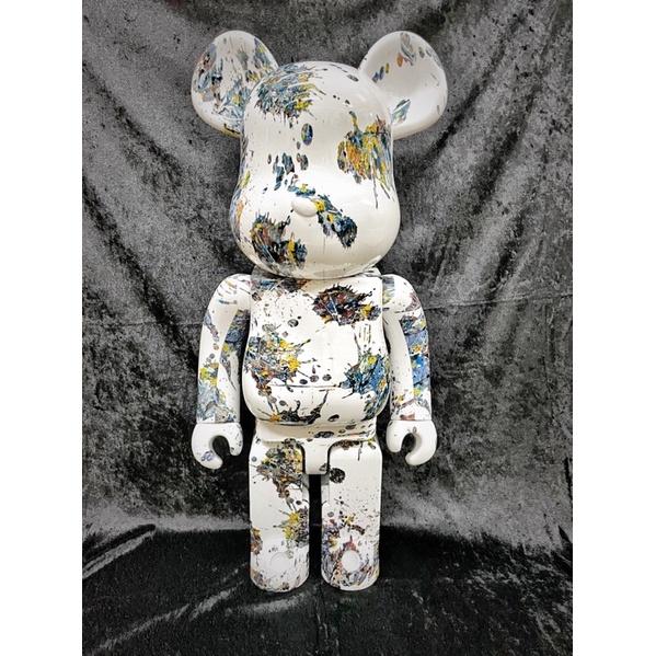 庫柏力克熊 bearbrick 潑墨3代1000%完售