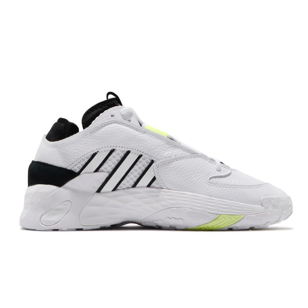 adidas 慢跑鞋 Streetball 白 黑 男鞋 運動鞋 皮革鞋面 EG2994 【正品 】