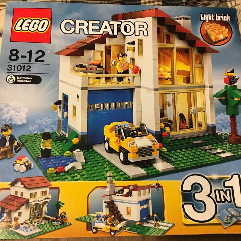 Lego 31012 樂高 大宅 樓中樓 絕版