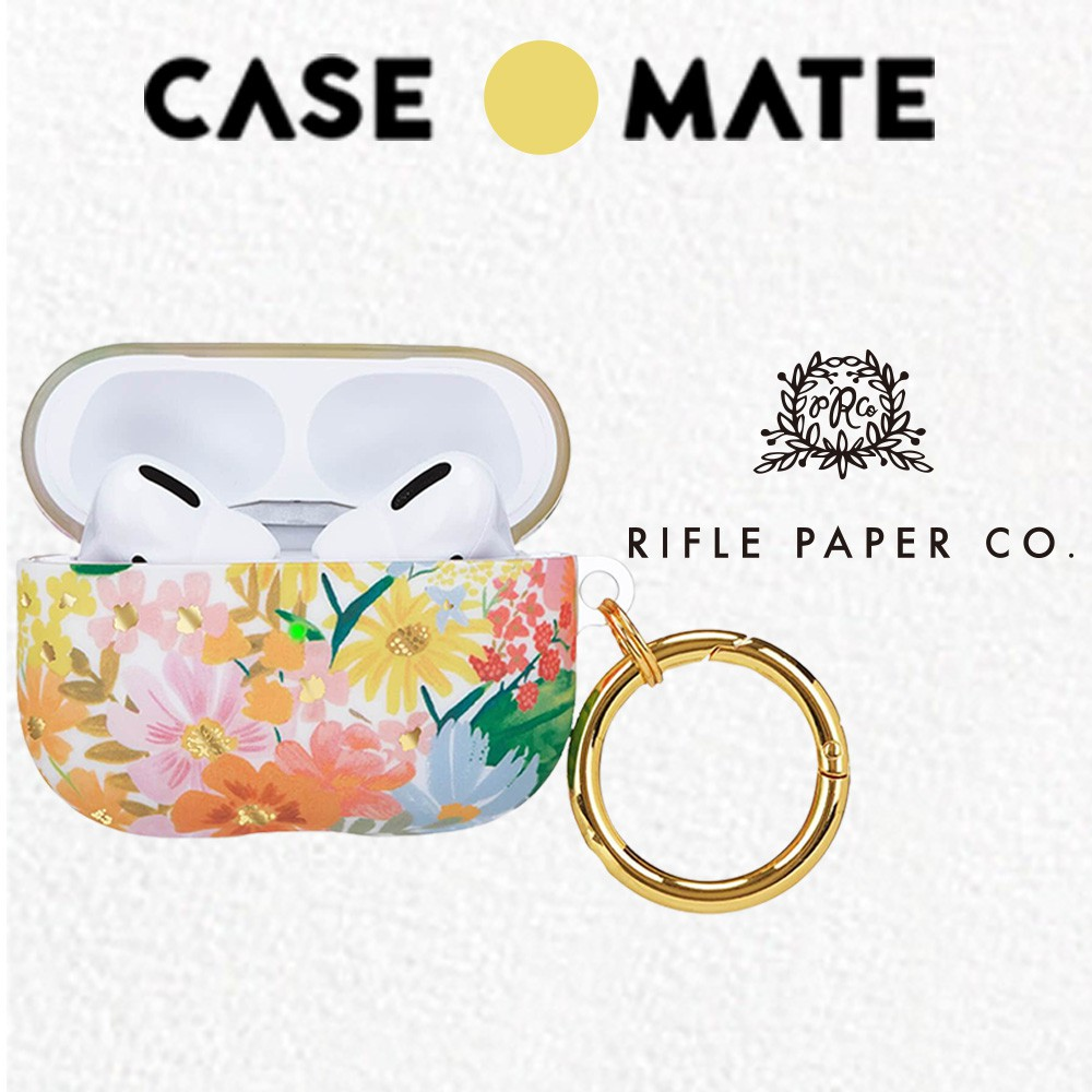 Rifle Paper Co. Case Mate 限量聯名款 AirPods Pro 保護套(贈扣夾)