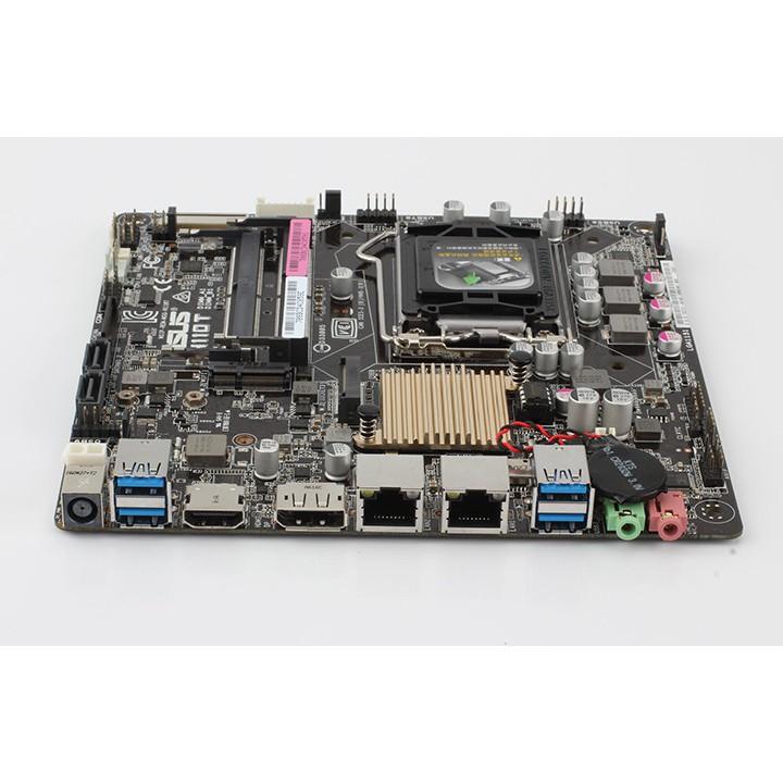 【爆款現貨】Asus 華碩  H110T 1151 7代 DDR4 THIN ITX 主板 DP HDMI雙網卡 工包